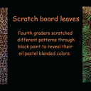 Scratch Board Leaves photo album